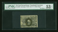 Fractional Currency:Second Issue, Fr. 1289 25¢ Second Issue PMG About Uncirculated 53 EPQ....