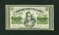 Canadian Currency: , DC-1c 25¢ 1870 Fine.. ...
