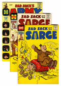 Silver Age (1956-1969):Humor, Sad Sack and the Sarge Plus File Copy Long Box Group (Harvey, 1957-81) Condition: Average VF/NM....