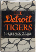 Autographs:Others, Detroit Tigers Signed Book. ...