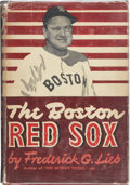 Autographs:Others, Boston Red Sox Signed Book. ...