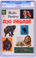 Golden Age (1938-1955):Miscellaneous, Four Color #662 Marlin Perkins' Zoo Parade - File Copy (Dell, 1955) CGC NM 9.4 Off-white pages....