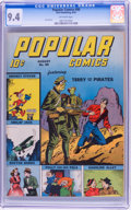 Golden Age (1938-1955):Adventure, Popular Comics #90 (Dell, 1943) CGC NM 9.4 Off-white pages....