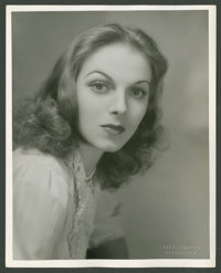 "Vera Zorina by Ray Jones Lot (Universal, 1940s). Portrait Stills (4) (8"" X 10"") and (2) (5"" X 7.5"")..."