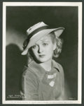 """Movie Posters:Miscellaneous, Joan Bennett Lot (Paramount, 1934). Stills (2) (8"""" X 10"""").Miscellaneous.. ... (Total: 2 Items)"""