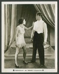 "Maurice Chevalier in ""Paramount on Parade"" (Paramount, 1930). Still (8"" X 10""). Musical"