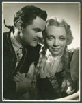 """Movie Posters:Musical, Lawrence Tibbett and Virginia Bruce in """"Metropolitan"""" by GeorgeHurrell (20th Century Fox, 1935). Exclusive Still (11"""" X 14""""..."""