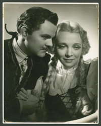 "Lawrence Tibbett and Virginia Bruce in ""Metropolitan"" by George Hurrell (20th Century Fox, 1935). Exclusive St..."