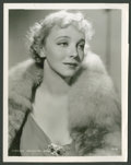 """Movie Posters:Miscellaneous, Virginia Bruce (MGM, 1930s). Still (8"""" X 10""""). Miscellaneous.. ..."""