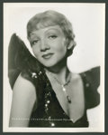 """Movie Posters:Comedy, Claudette Colbert Lot (Paramount, 1930s). Stills (2) (8"""" X 10"""").Miscellaneous.. ... (Total: 2 Items)"""