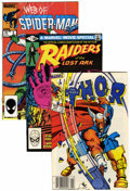 Modern Age (1980-Present):Miscellaneous, Marvel Modern Age Box Lot (Marvel, 1980s)....