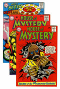 Silver Age (1956-1969):Horror, House of Mystery/House of Secrets Group - David N. Toth pedigree(DC, 1965-73).... (Total: 11 Comic Books)