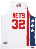 Basketball Collectibles:Others, Julius Erving Signed Jersey. ...