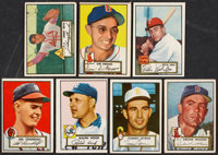 1952 Topps Baseball Lot of 62