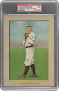 Baseball Cards:Singles (Pre-1930), 1910-11 T3 Turkey Red Cabinets Christy Mathewson #27 Checklist BackPSA EX 5....