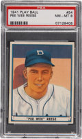 Baseball Cards:Singles (1940-1949), 1941 Play Ball Pee Wee Reese #54 PSA NM-MT 8....
