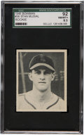 Baseball Cards:Singles (1940-1949), 1948 Bowman Stan Musial #36 SGC 92 NM/MT+ 8.5....