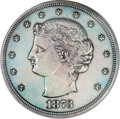 Patterns, 1873 T$1 Trade Dollar, Judd-1281, Pollock-1423, R.4, PR62 PCGS....