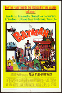 "Batman (20th Century Fox, 1966). One Sheet (27"" X 41""). Action"