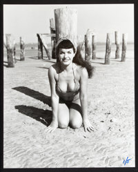 "Bettie Page (Concord Camera Club, R-1980s). Oversized Stills (3) (16"" X 20""). Bad Girl. ... (Total: 3 Items)"
