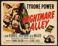 "Movie Posters:Film Noir, Nightmare Alley (20th Century Fox, 1947). Lobby Card Set of 8 (11"" X 14""). Film Noir.. ... (Total: 8 Items)"