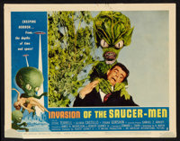 "Invasion of the Saucer-Men (American International, 1957). Lobby Card Set of 8 (11"" X 14""). Science Fiction..."