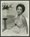 """Movie Posters:Miscellaneous, Elizabeth Taylor Lot (Warner Brothers, 1956). Stills (2) (8"""" X10""""). Miscellaneous.. ... (Total: 2 Items)"""