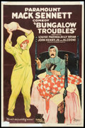 "Movie Posters:Comedy, Bungalow Troubles (Paramount, 1920). One Sheet (27"" X 41""). Comedy.. ..."