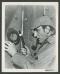 "Movie Posters:Mystery, Basil Rathbone and Nigel Bruce in ""Sherlock Holmes"" Lot (20thCentury Fox & Universal, 1939-1945). Stills (5) (8"" X 10"").My... (Total: 5 Items)"