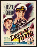 "Movie Posters:War, Destination Tokyo (Warner Brothers, 1949). Belgian (14"" X 19.5"").War. First Post-War Release.. ..."