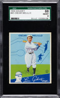 Baseball Cards:Singles (1930-1939), 1934 Goudey Oscar Melillo #45 SGC 88 NM/MT 8....