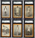 "Miscellaneous Collectibles:General, 1913 T230 Pan Handle Scraps ""World's Champion Athletes"" CompleteSet (50) - With SGC 40 VG 3 Kahanamoku...."