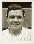 Baseball Collectibles:Photos, Circa 1920 Babe Ruth Photograph by Paul Thompson....