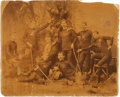 Hockey Collectibles:Photos, Circa 1880's Hockey Cabinet Photograph....