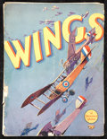 "Movie Posters:War, Wings (Paramount, 1927). Program (Multiple Pages, 9"" X 12""). War....."
