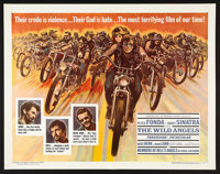 "The Wild Angels (American International, 1966). Half Sheet (22"" X 28""). Exploitation"