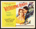 """Movie Posters:Romance, Wuthering Heights (United Artists, R-1955). Half Sheet (22"""" X 28"""").Romance.. ..."""