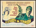 """Movie Posters:Crime, A Study in Terror (Columbia, 1966). Half Sheet (22"""" X 28""""). Crime....."""