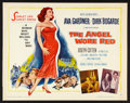 "Movie Posters:War, The Angel Wore Red (MGM, 1960). Half Sheet (22"" X 28"") Style B.War.. ..."
