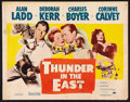 "Movie Posters:Adventure, Thunder in the East (Paramount, 1953). Half Sheet (22"" X 28"") StyleA. Adventure.. ..."