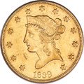 Liberty Eagles, 1839 $10 Type of 1838, Large Letters PCGS Genuine....
