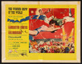 "Movie Posters:Drama, Trapeze (United Artists, 1956). Half Sheet (22"" X 28"") Style A.Drama.. ..."