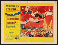 "Trapeze (United Artists, 1956). Half Sheet (22"" X 28"") Style A. Drama"