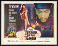 """Movie Posters:Thriller, The Terror of the Tongs (Columbia, 1961). Half Sheet (22"""" X 28"""").Thriller.. ..."""