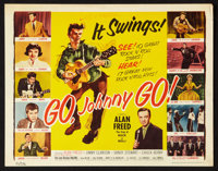 "Go, Johnny, Go! (Hal Roach, 1959). Lobby Card Set of 8 (11"" X 14""). Rock and Roll. ... (Total: 8 Items)"