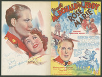 Rose Marie Lot (MGM, 1936). Heralds (5) (Various Sizes). Musical. ... (Total: 5 Items)