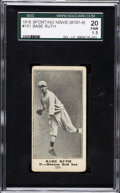 Baseball Cards:Singles (Pre-1930), 1916 M101-4 Sporting News Babe Ruth #151 SGC 20 Fair 1.5....