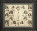 Baseball Collectibles:Photos, 1904 Boston Red Sox Photographic Composite by Carl Horner....
