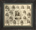 Baseball Collectibles:Photos, 1904 Pittsburg Pirates Photographic Composite by Carl Horner....