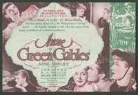 "Anne of Green Gables Lot (RKO, 1934). Heralds (2) (6"" X 8.75"" and 8.75"" X 12,"" Folded Out). Drama..."